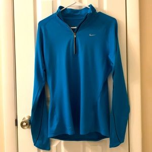 Nike Dri-fit top, turquoise size M